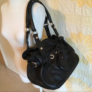 Makowsky Leather Handbag